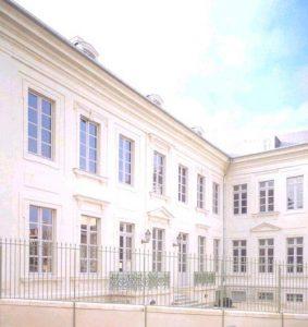 Hôtel de Livois (XVIIIème siècle), siège de l'A.Gén.A.
